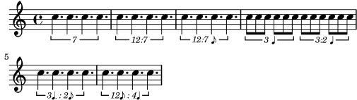 LilyPond Notation Reference