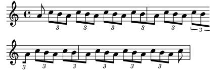 LilyPond 記譜法リファレンス: 1...