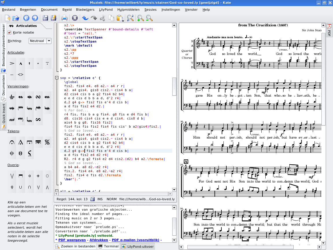 Lilypond music notation for everyone easier editing environments buycottarizona