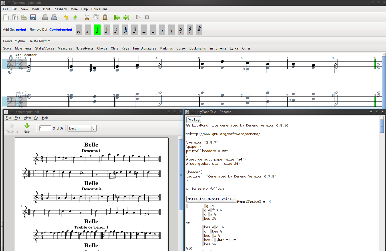 LilyPond – Music notation for everyone
