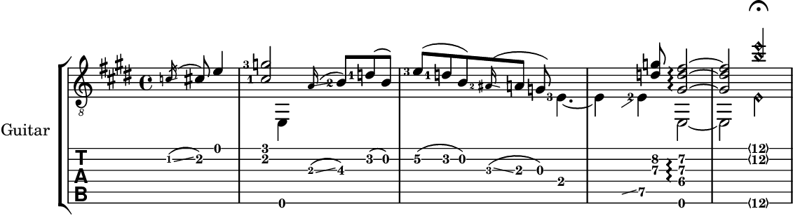 LilyPond – Music notation for everyone: Examples
